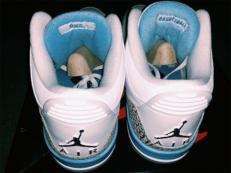 UNC Air Jordan 3 PE