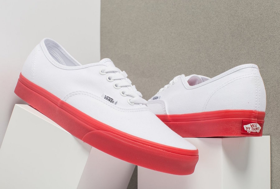 Vans Authentic Red Sole