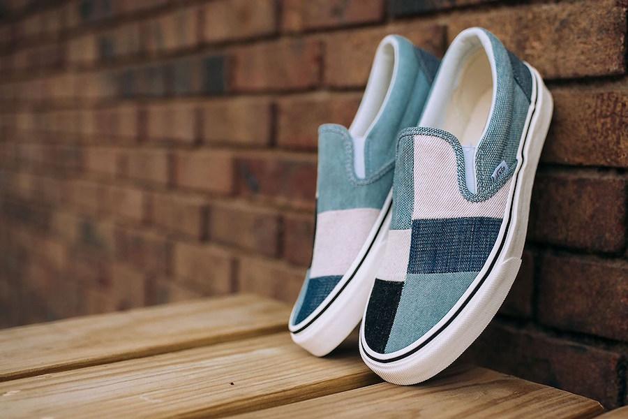 Vans Classic Slip-On Patchwork
