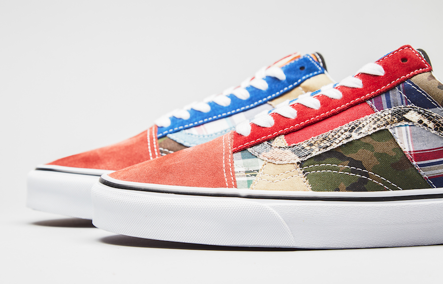 Vans Old Skool Factory Floor Patchwork
