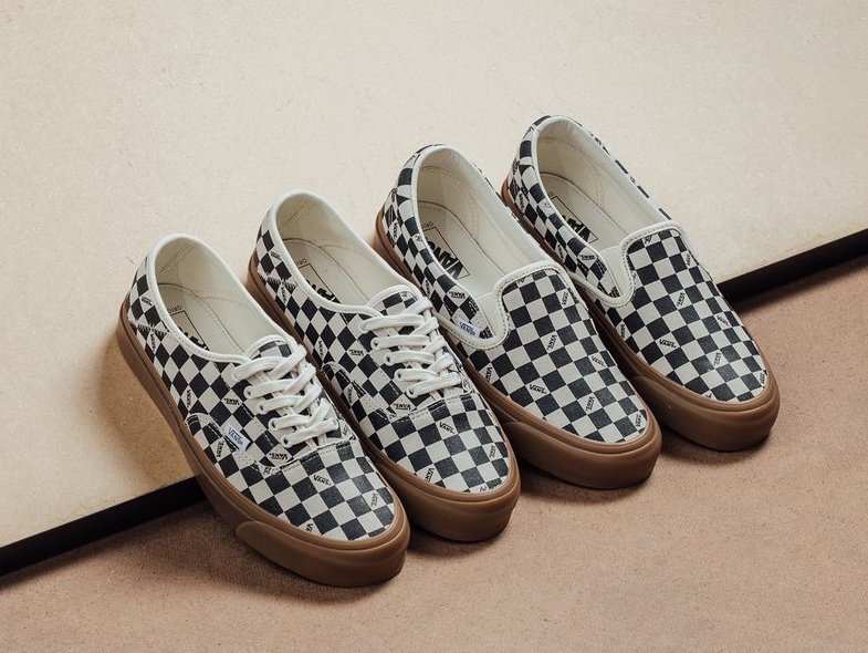 Vans Vault Checkerboard Gum Pack