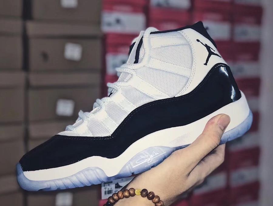 9b5e27c859a Air Jordan 11 Concord 2018 Release Date | SneakerFiles