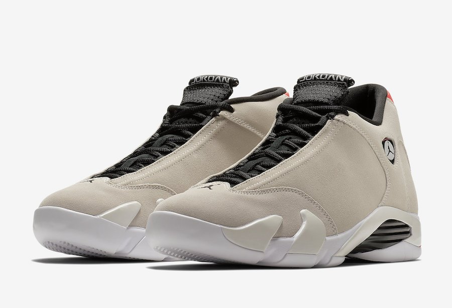 Air Jordan 14 Desert Sand White Infrared 23 Black