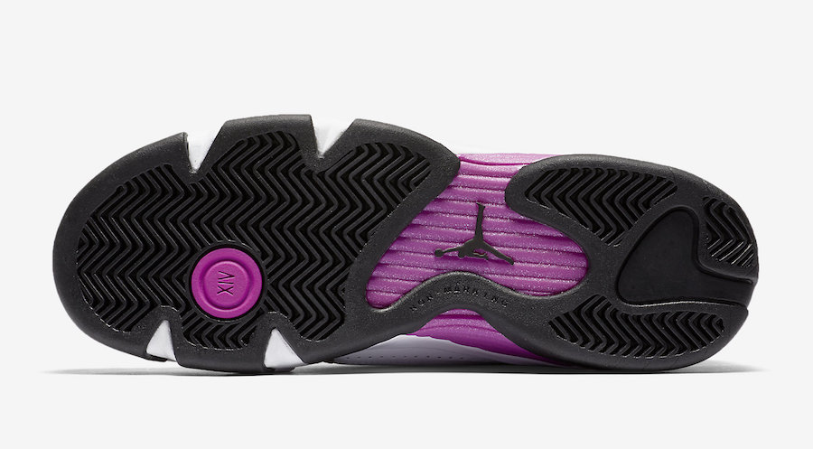 Air Jordan 14 Fuchsia Blast White Black