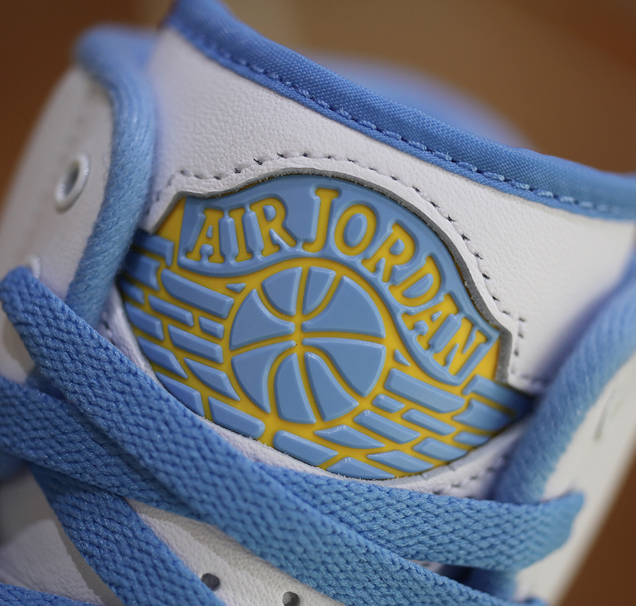 Air Jordan 2 Melo White Varsity Maize University Blue 385475-122