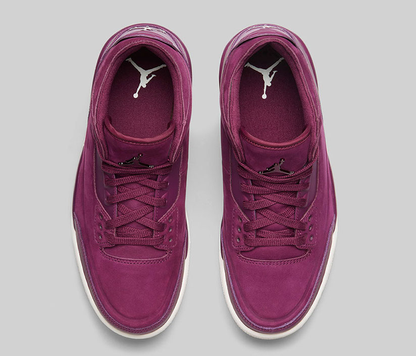 Air Jordan 3 Bordeaux AH7859-600 Release Info