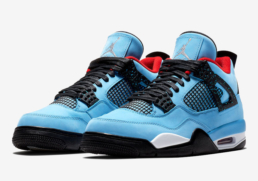 Travis Scott Air Jordan 4 Houston Oilers 308497-406  befa15e14