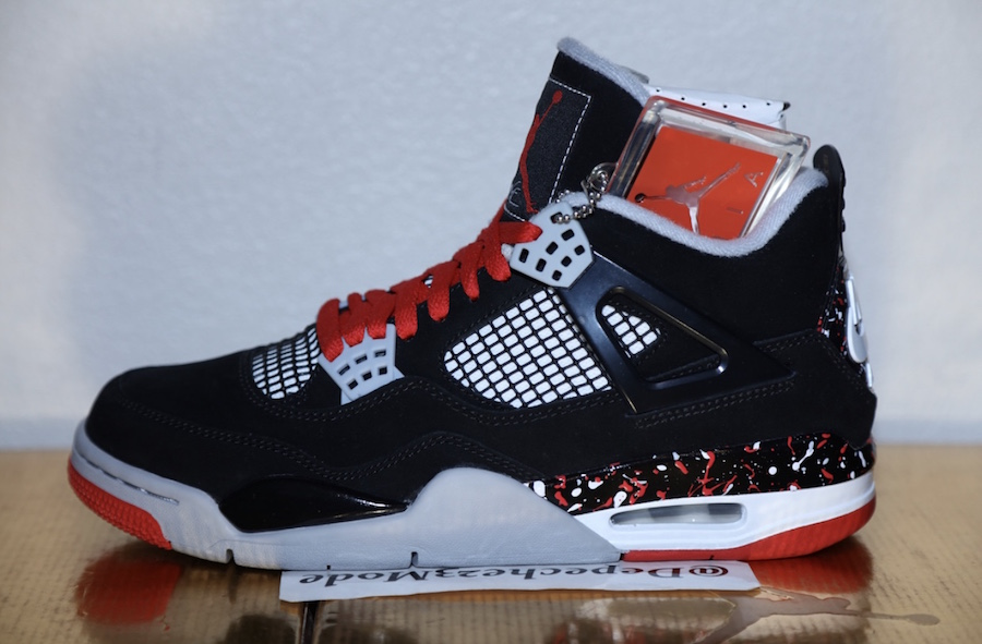 Air Jordan 4 Splatter Nike Air