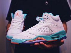 Air Jordan 5 Light Aqua 2018