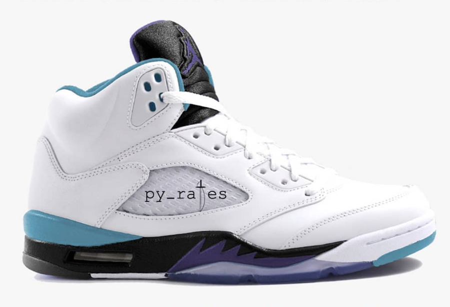 Air Jordan 5 NRG Grape Ice 2018