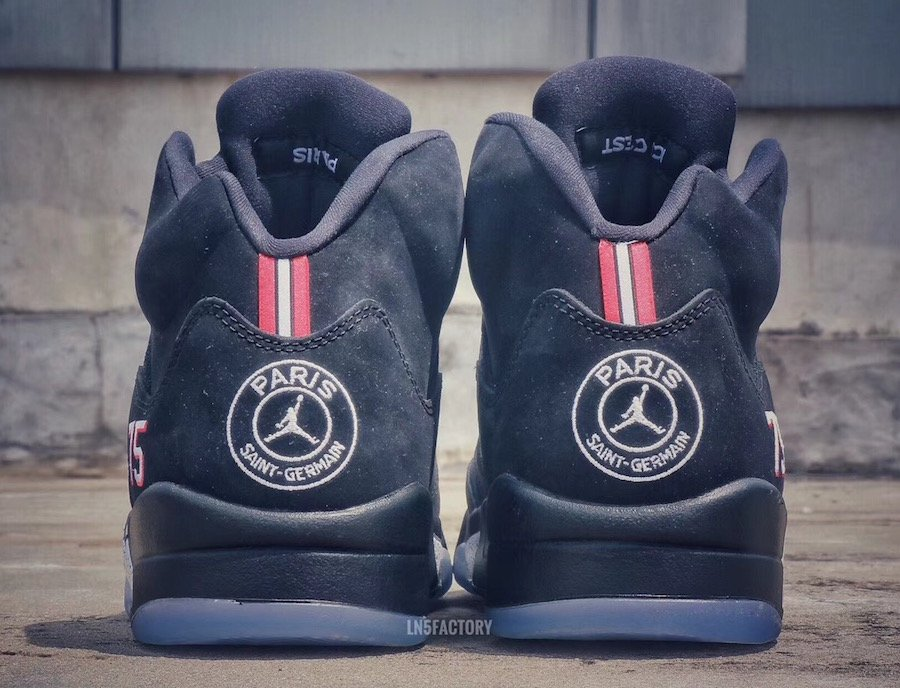 Air Jordan 5 Paris Saint Germain Football Soccer
