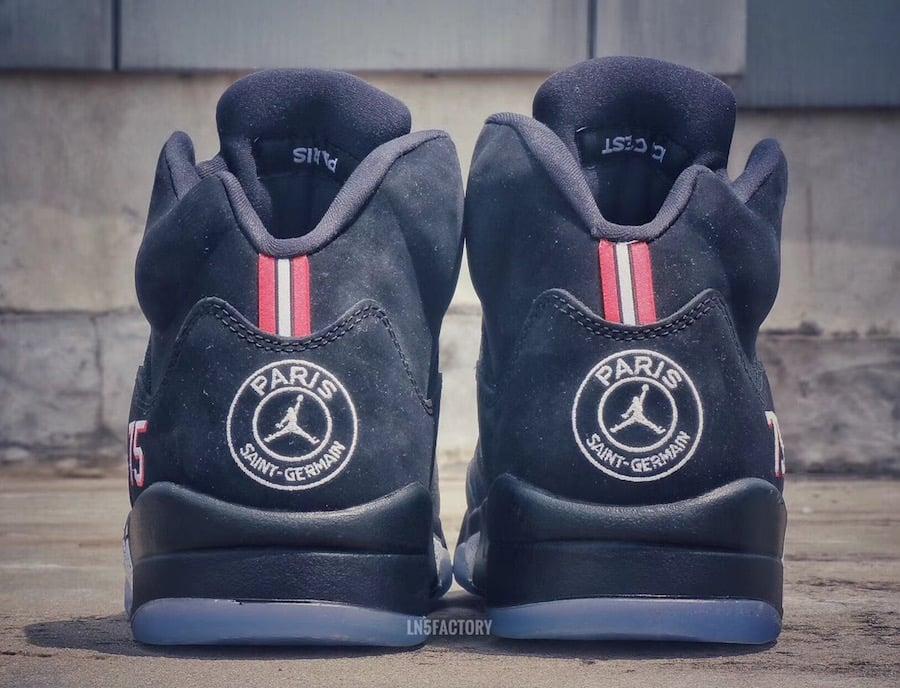 Air Jordan 5 Paris Saint Germain Football Soccer