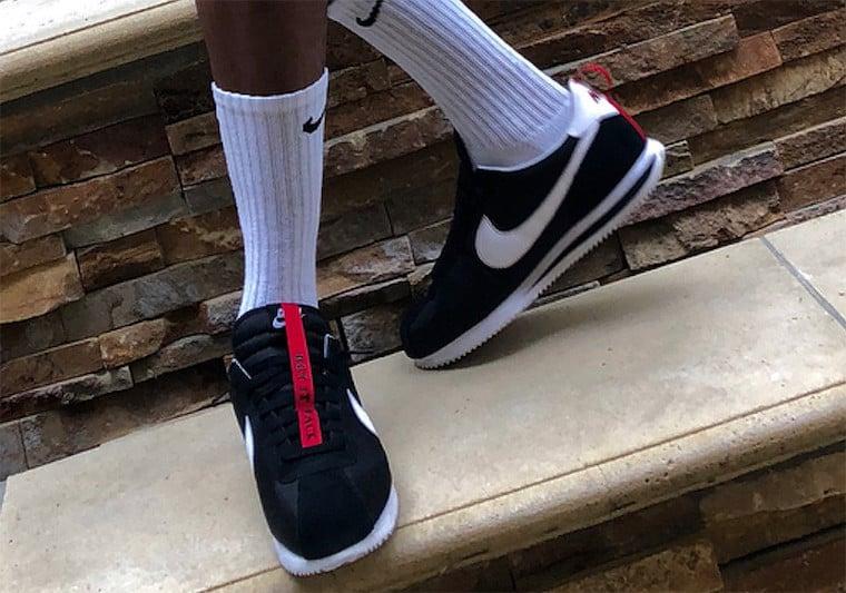 best sneakers 0e7de 2d745 Kendrick Lamar Nike Cortez Kenny 3 Black