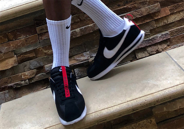 quality design 5cc8b ba753 Kendrick Lamar Nike Cortez Kenny 3 Black | SneakerFiles