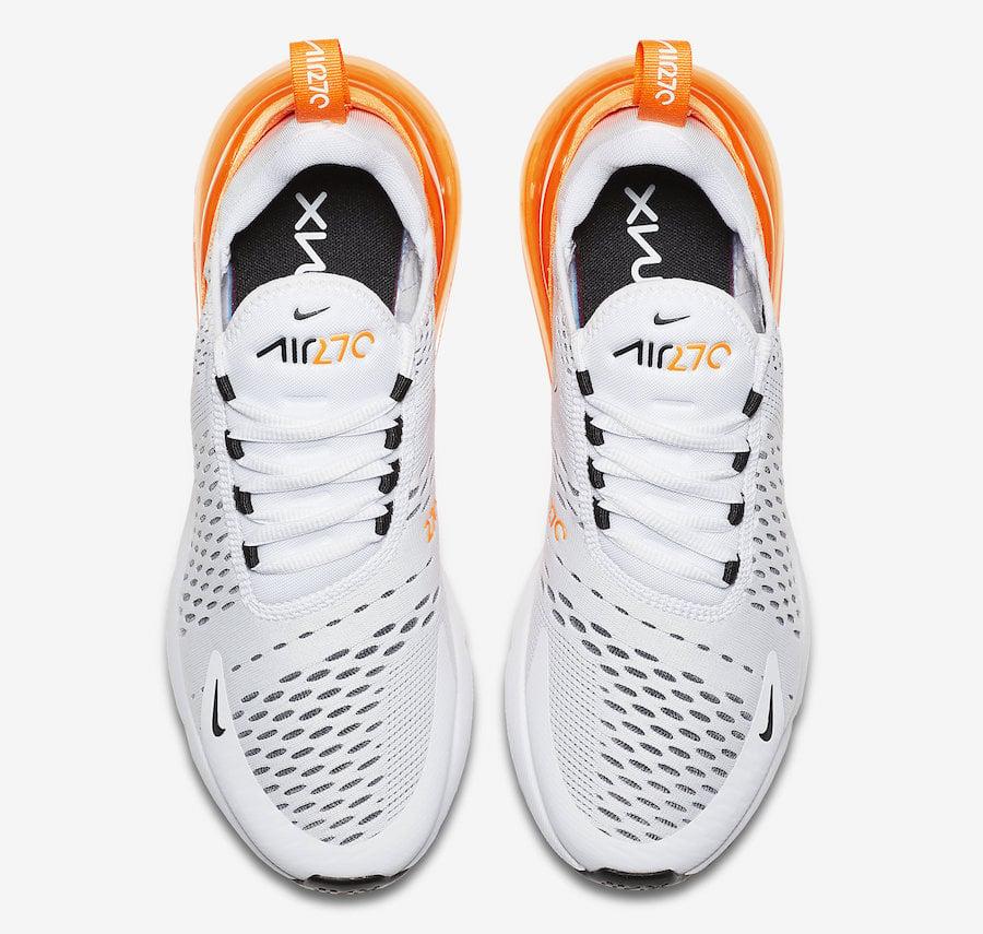 Nike Air Max 270 White Orange AH6789-104