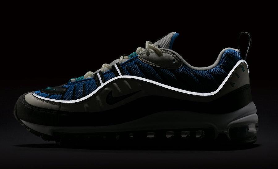 Nike Air Max 98 Blue Nebula AH6799-106
