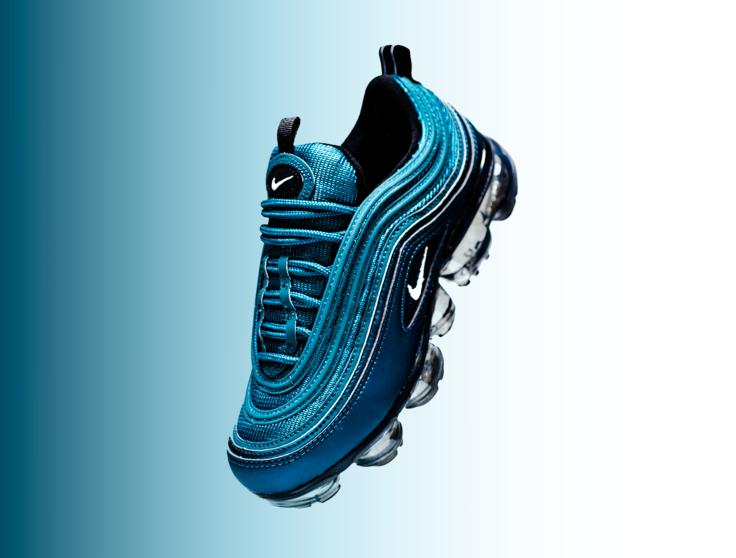 Nike Air VaporMax 97 Metallic Dark Sea AO4542-901