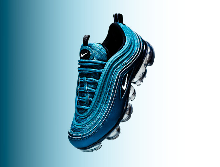 67b58615daf70 Nike Air VaporMax 97 Metallic Dark Sea AO4542-901