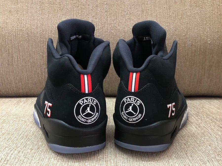 09e3e56647a5 Air Jordan 5 PSG Paris Saint-Germain Release Date