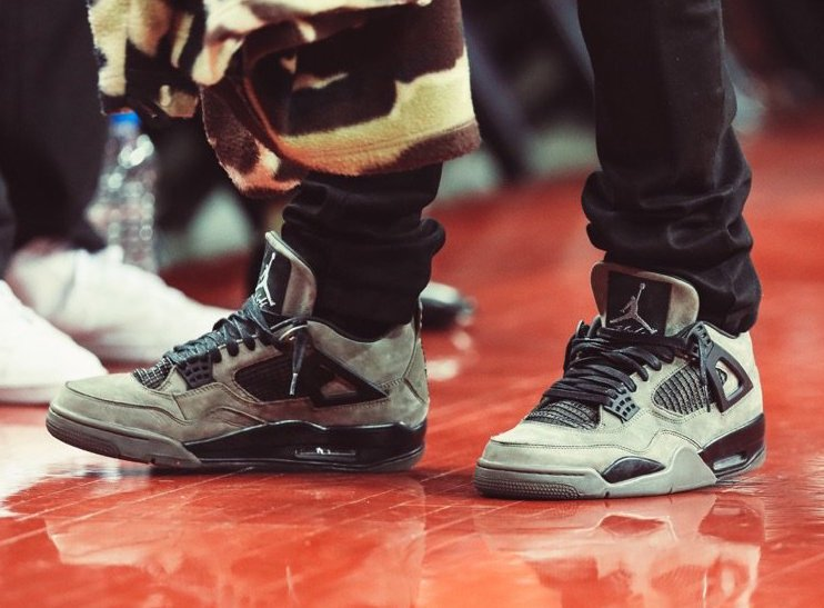 6e2671be8c1 Travis Scott x Air Jordan 4 Dark Grey Black