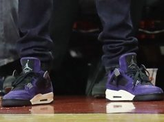 Travis Scott Air Jordan 4 Purple