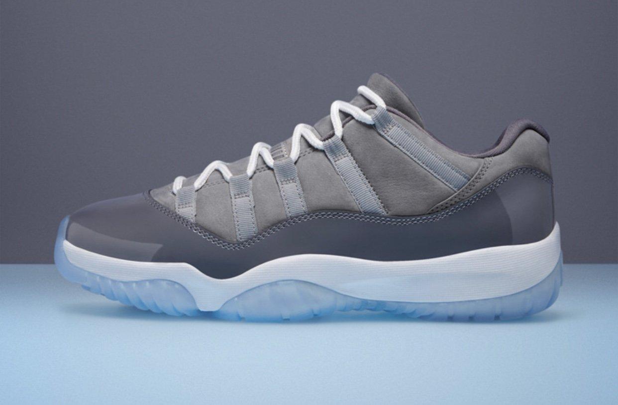 Air Jordan 11 Low Cool Grey Restock