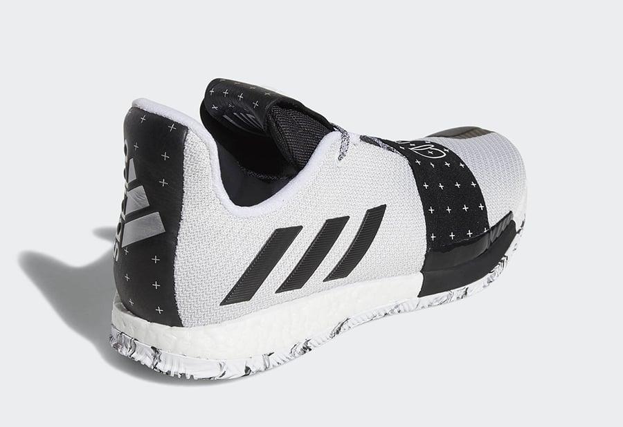 adidas Harden 3 White Black