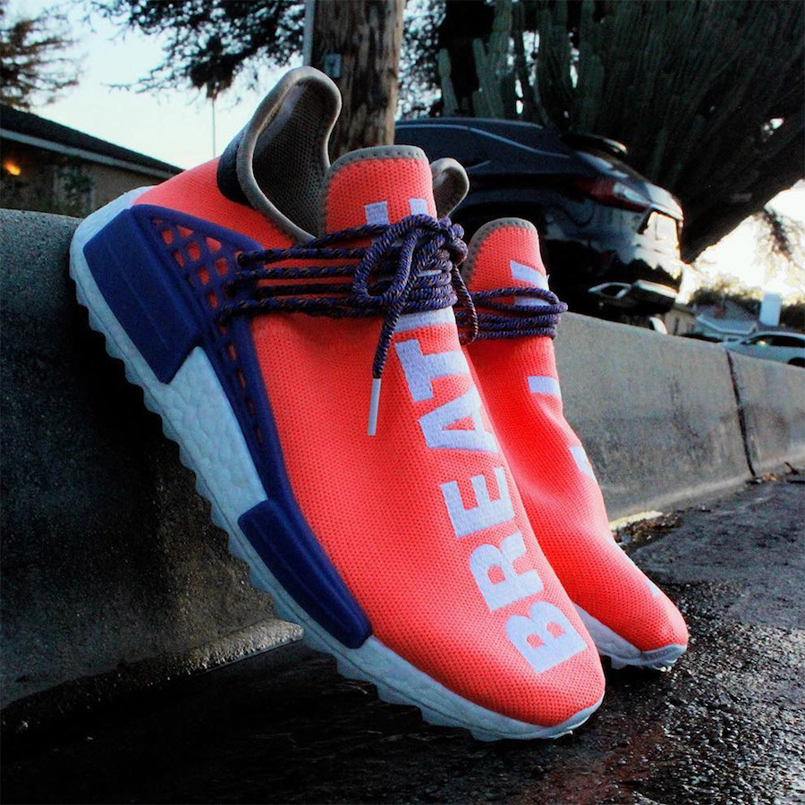 adidas NMD Hu Breathe Walk Melon Sample