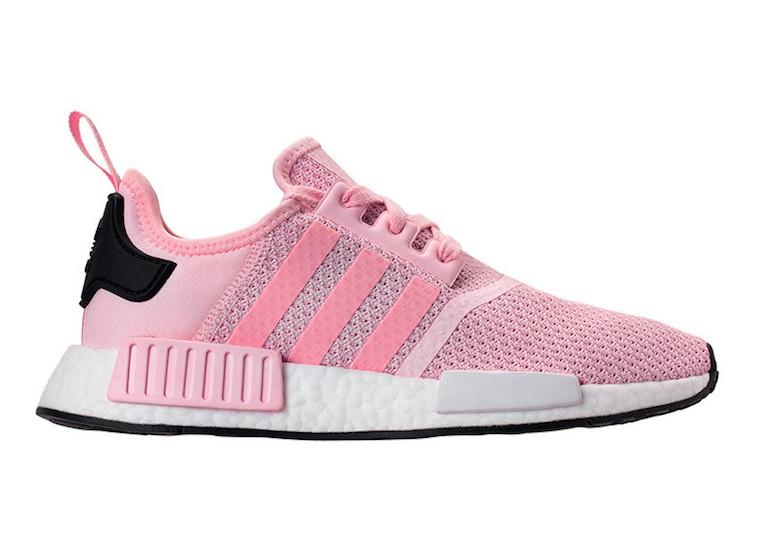 adidas NMD R1 Pink B37648 Black B37649