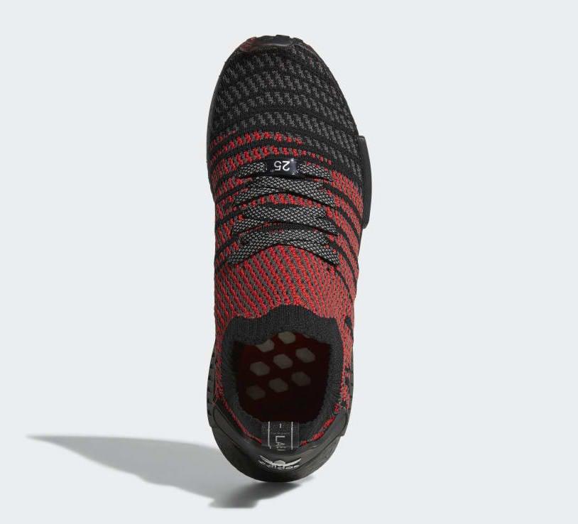 6b58047d8 adidas NMD R1 Primeknit Collegiate Red D96817