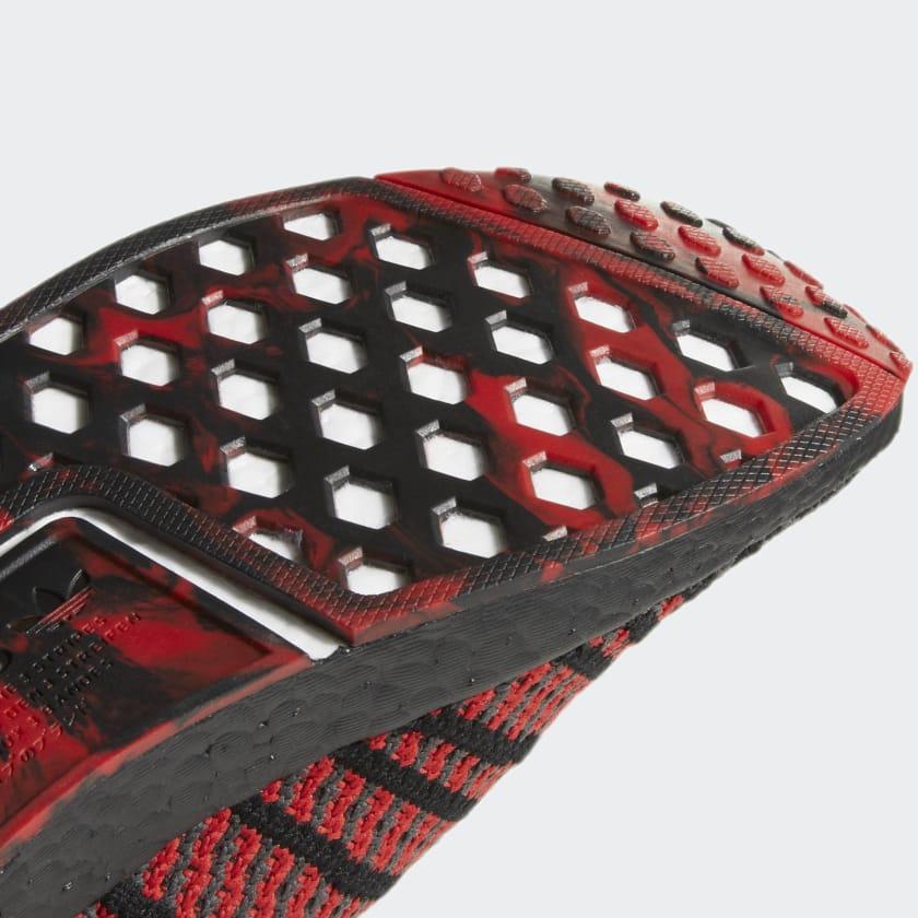 adidas NMD R1 Primeknit Collegiate Red D96817