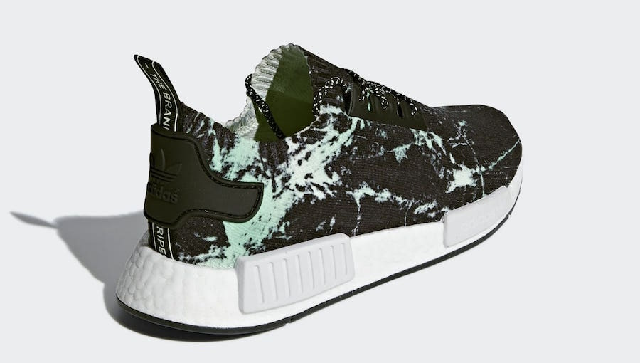 39997e09c0be7 adidas NMD R1 Primeknit Green Marble BB7996