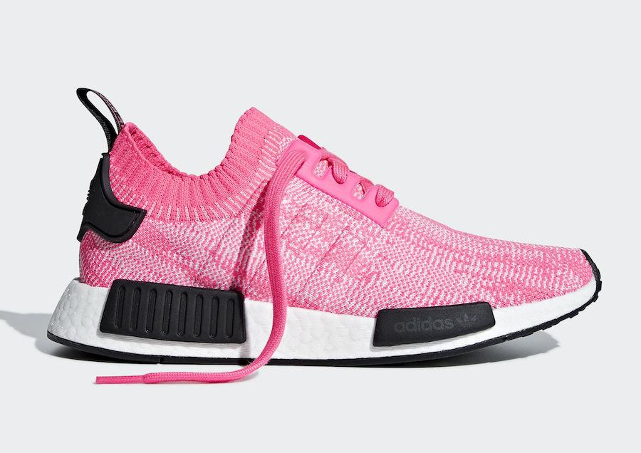 adidas NMD R1 Primeknit Solar Pink AQ1104