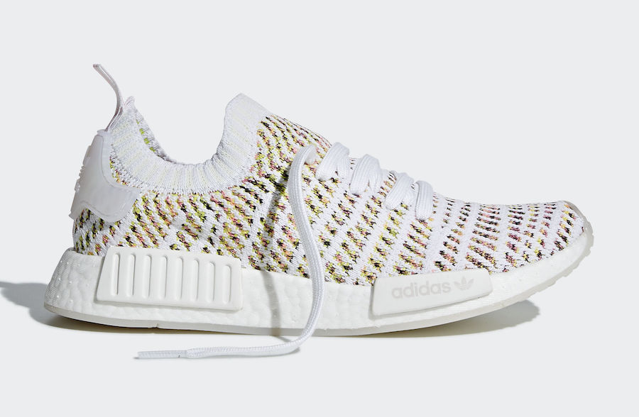 huge selection of 01af2 1ad1f adidas NMD R1 STLT Primeknit Solar Multi B43838 | SneakerFiles