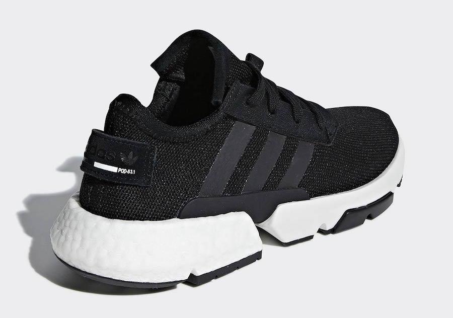 adidas POD S3.1 Black White B37366