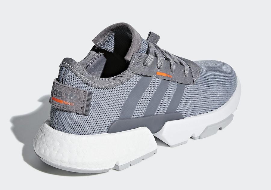 adidas POD S3.1 Grey Solar Orange B37365