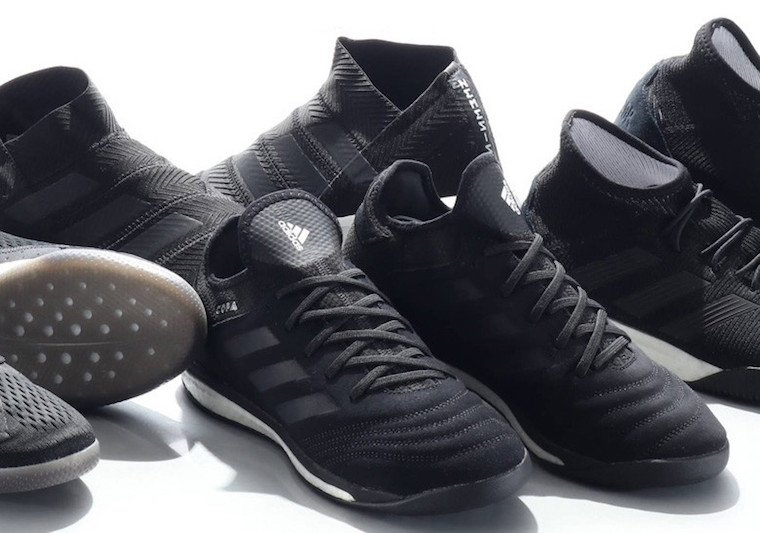 adidas Soccer Tango 18.1 Black White Collection