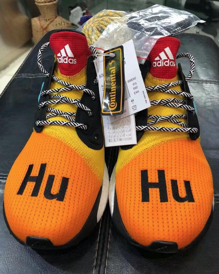 adidas Solar Hu Glide ST Boost Multicolor BB8042