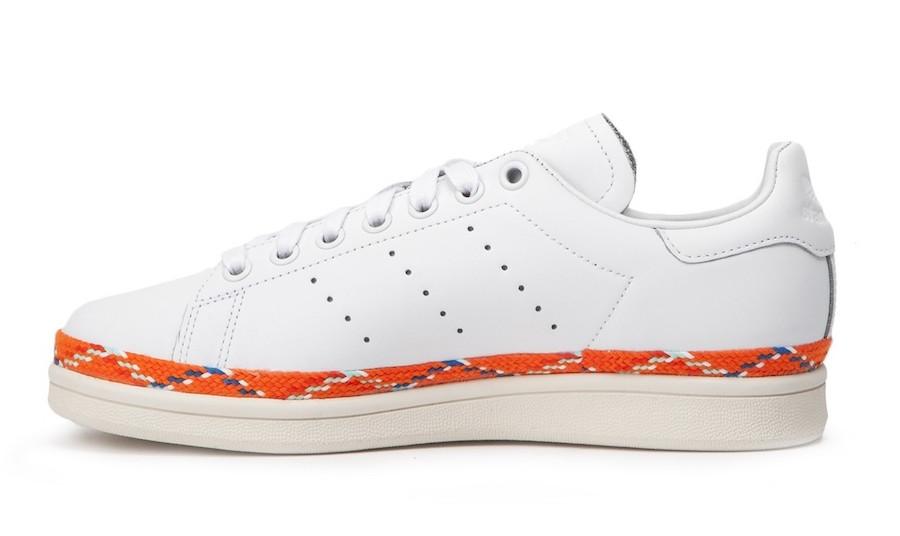 adidas Stan Smith New Bold White Orange