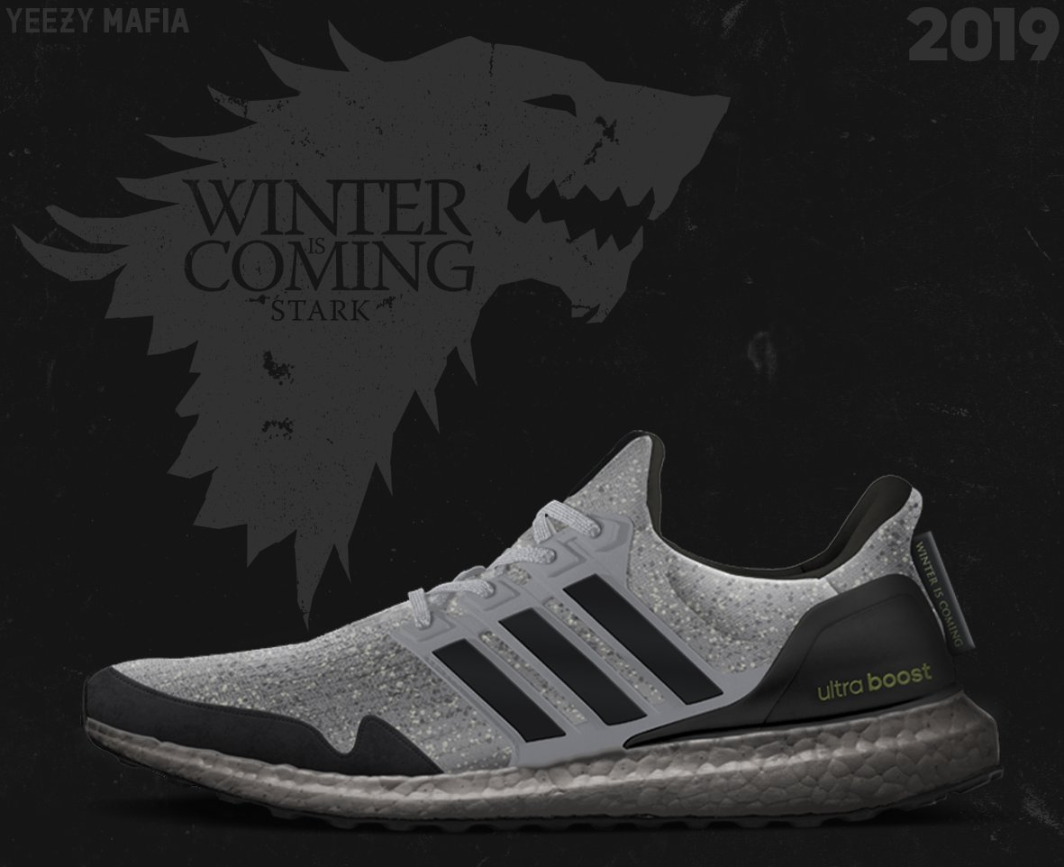adidas Ultra Boost Game of Thrones Stark 2019 Release Date