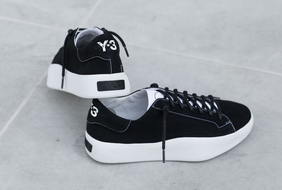 adidas Y-3 Tangutsu Lace Black White BB7989