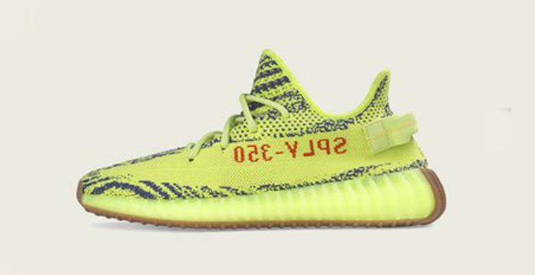 adidas Yeezy Boost 350 V2 Semi Frozen Yellow October 2018