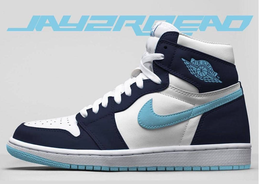 Air Jordan 1 Blue Chill CD0461-401