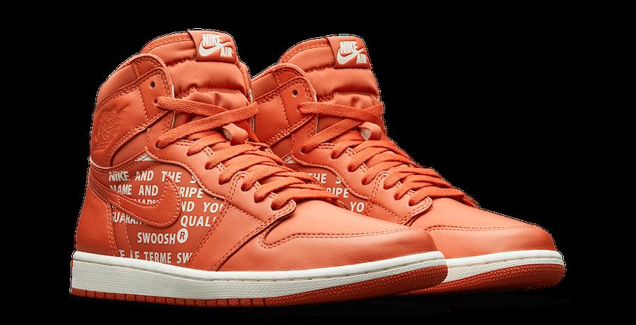 Air Jordan 1 High OG Nike Air Vintage Coral 555088-800
