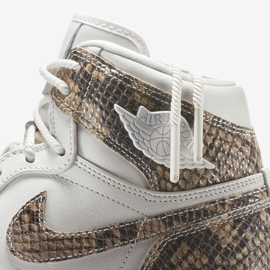 Air Jordan 1 High Snakeskin AH7389-004