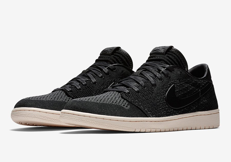 Air Jordan 1 Low Flyknit Black AH4506-010