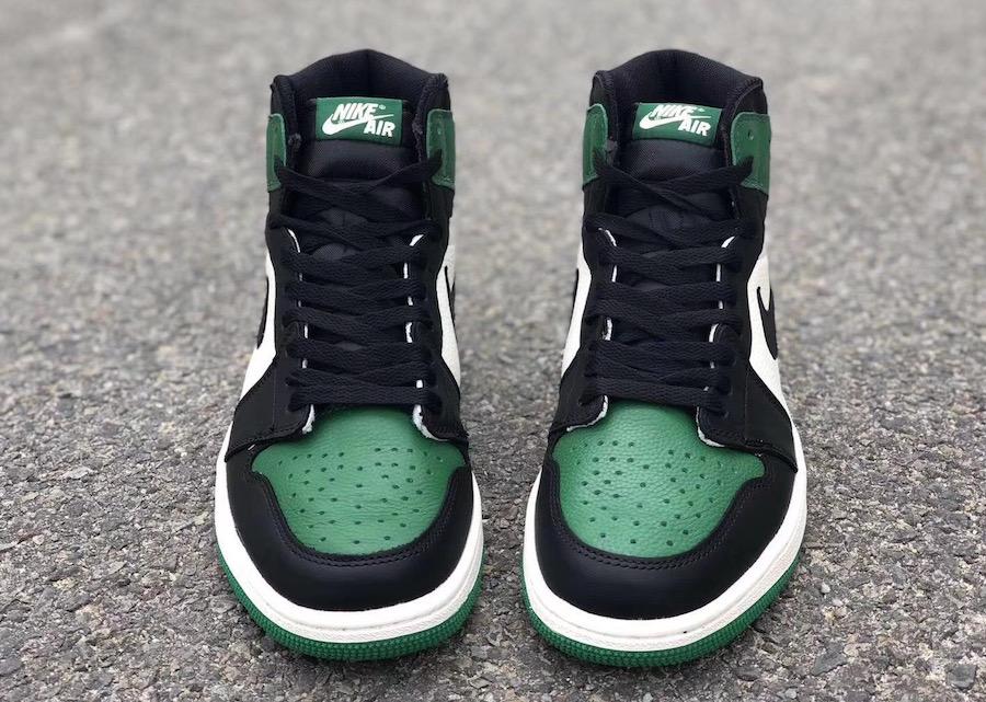 dc8f67298b7 Air Jordan 1 Pine Green 555088-302 Release Date | SneakerFiles