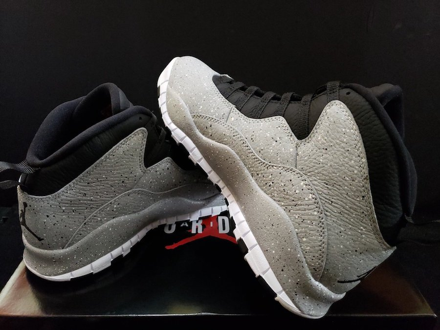 db9187def26 Air Jordan 10 Cement 310805-062 Release Date | SneakerFiles