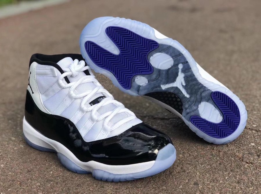 the best attitude 3ec0c ccab0 Air Jordan 11 Concord 2018 Retro Original Box