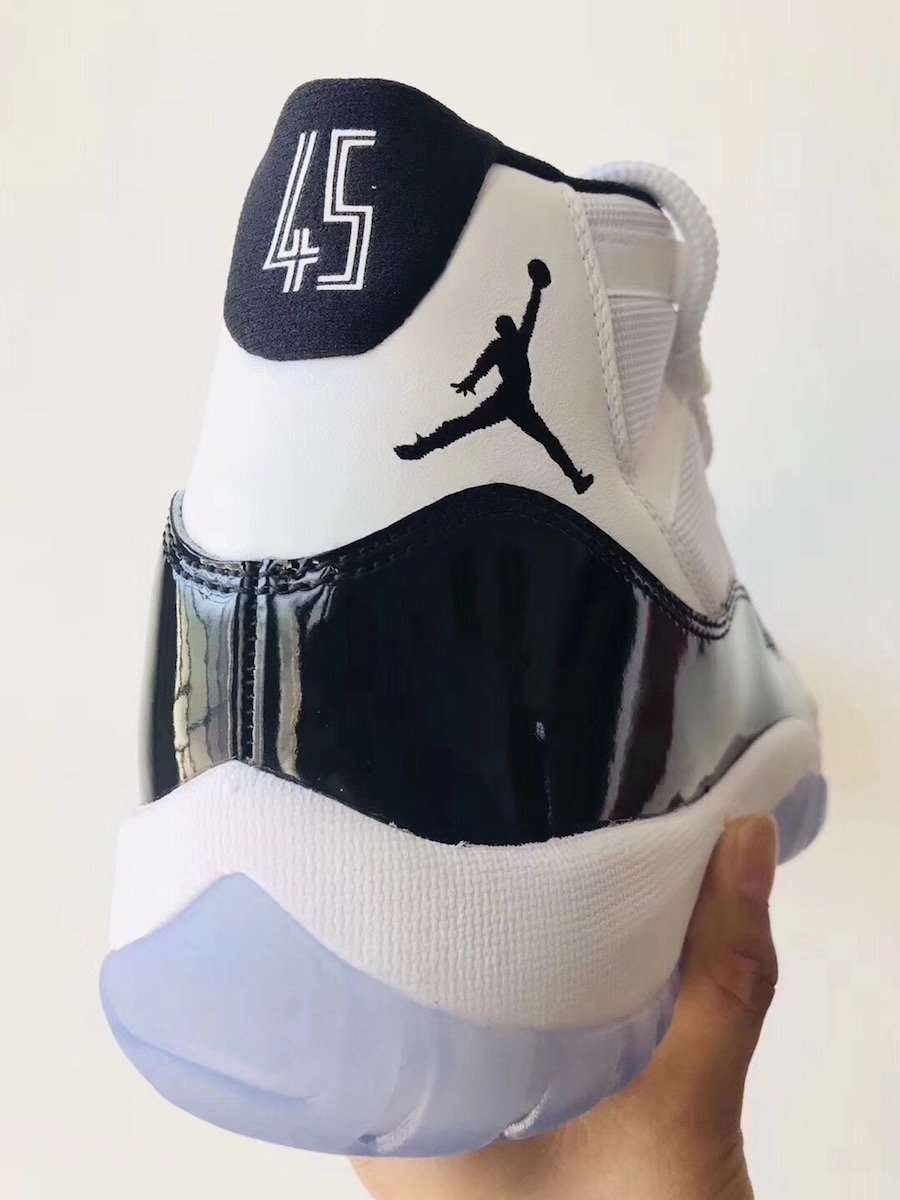 Air Jordan 11 Concord White Black Dark Concord 378037-100